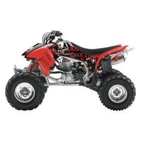 f84e410c4d0 04-10 HONDA TRX450R  2011 FACTORY EFFEX METAL MULISHA ATV GRAPHICS - HONDA   Automotive