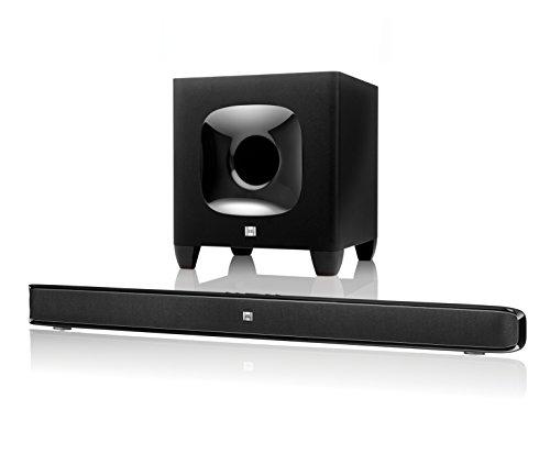 JBL Cinema SB400 Barre de Son et Caisson de Basses sans Fil Bluetooth de 120W Qualité Professionnelle - Noir