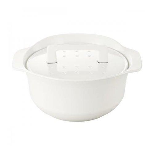 i-ru Pot 南部鉄器ホーロー鍋 IH対応純国産鋳物鍋 i-ruポット 3.3L 白磁 NB3LWT NB3LWT