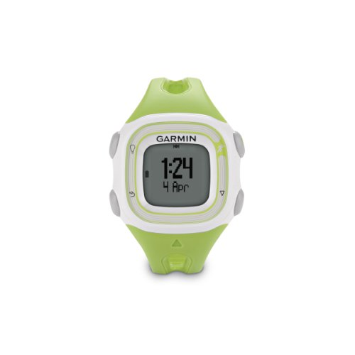Garmin Forerunner 10 GPS Watch (Green/White)