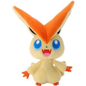 Pokemon Best Wishes 7″ Victini Plush Toy image