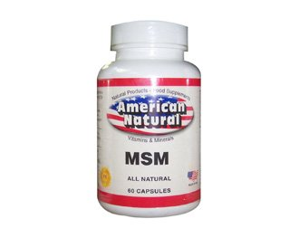 American Natural Msm 60 Caps Immune & Joint Support Anti-Ageing