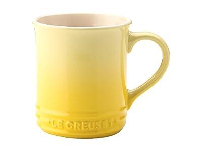 Le Creuset Stoneware, 12-Ounce Mug, Soleil, Set of 2