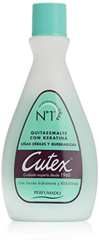 Cutex Quitaesmalte Solvente, con Keratina - 100 ml