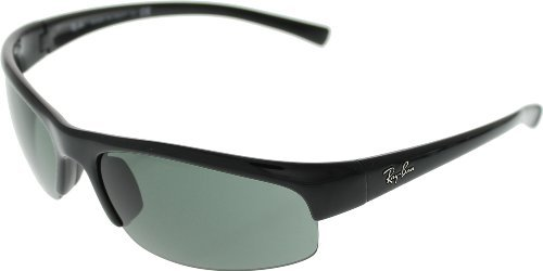 34aec2ae65 Ray Ban RB4039 Sunglasses-601 71 Glossy Black (Gray Green Lens)-63mm ...