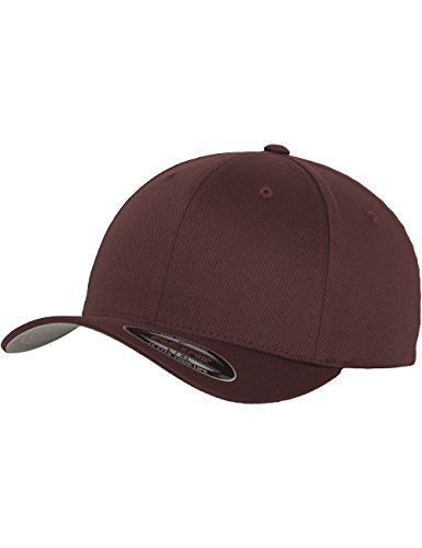 Flexfit - Cappellino Wooly Combed L, Marrone