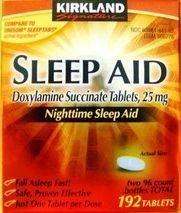 Kirkland Signature Nighttime Sleep Aid (Doxylamine