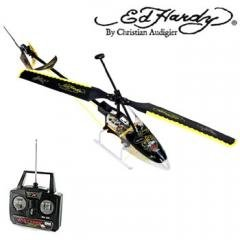 Ed Hardy Sky Hawk Remote Control Electronic Toy Helicopter