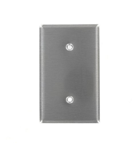 leviton-84019-1-gang-no-device-blank-wallplate-standard-size-strap-mount-stainless-steel-by-leviton