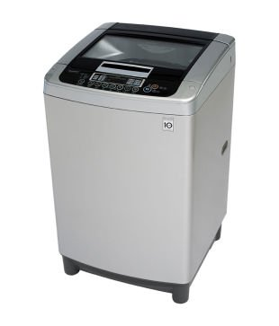 LG Six Motion Direct Drive Fully-automatic Top-loading Washing Machine (10.5 Kg, Free Silver)