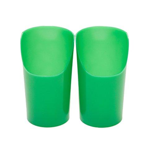 Flexi-Cut cups, Large/Green (7 oz.) - 5 pack