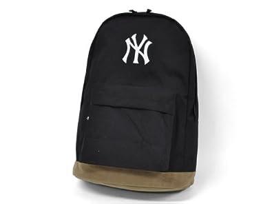 リュック ニューヨークヤンキース コーデュラナイロン スウェード底 (BLACK)