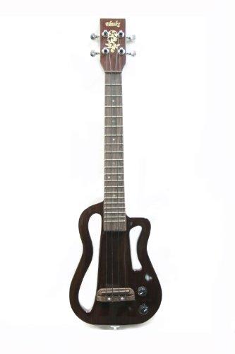 eleuke mp3 rosewood soprano solid body electric ukulele soprano ukulele. Black Bedroom Furniture Sets. Home Design Ideas