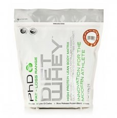 PhD Vanilla Flavoured Diet Whey Protein Powder 1kg