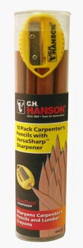 CH Hanson Company 00213 VersaSharp 10 Pencil Tube (Sharp Lead Pencils compare prices)