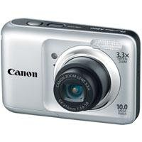 Canon Powershot A800 10 MP Digital Camera with 3.3x Optical Zoom (Silver)