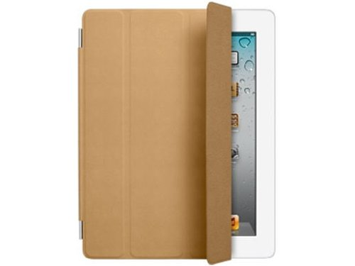 Apple iPad Smart Cover Leather Tan