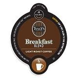 Tullys Breakfast Blend Coffee Keurig Vue Portion Pack, 32 count