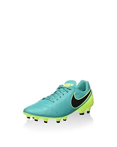 Nike Botas de fútbol Tiempo Genio Ii Lea Fg Aguamarina