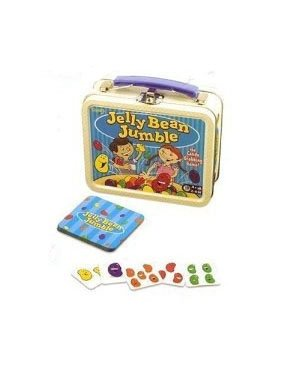 Jelly Bean Jumble Lunchbox Dice and Card Game - 1