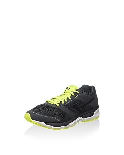 Mizuno Zapatillas de Running Synchro Mx Amarillo Flúor / Negro