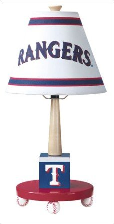 Guidecraft Texas Rangers Table Lamp