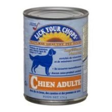 Lick Your Chops Wet Cat Food - Turkey & Brown Rice - 156g