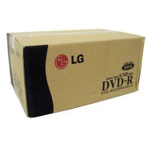 600pcs LG Brand DVD-R 16x 120min 4.7GB Disc for Copy