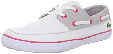 LACOSTE Karen CV USA Casual Boat Sneakers Womens Shoes
