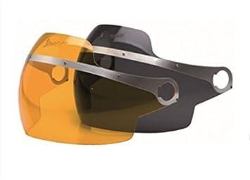 Vespa visière teinte foncée pour casque jet