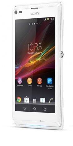 Sony XPERIA L C2105 (White ホワイト) SIMフリー 海外携帯