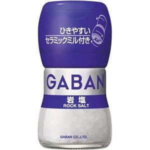 ギャバン 岩塩 40g ミル付き