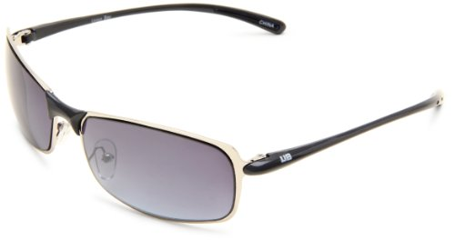 union-bay-mens-u857-rectanglular-metal-silver-blue-frame-gradient-blue-lens-one-size