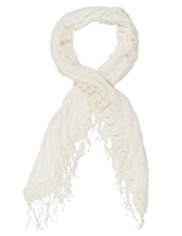 Indigo Collection Lightweight Lace Snood Scarf