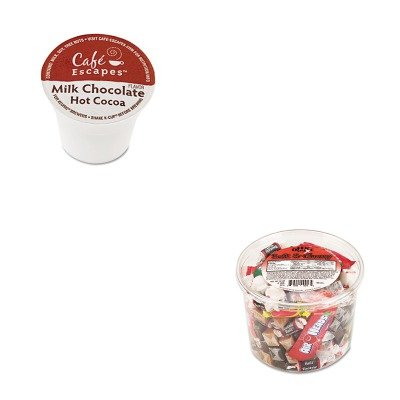Kitgmt6801Ofx00013 - Value Kit - Green Mountain Coffee Roasters Caf Escapes Milk Chocolate Hot Cocoa K-Cups (Gmt6801) And Office Snax Soft Amp;Amp; Chewy Mix (Ofx00013)