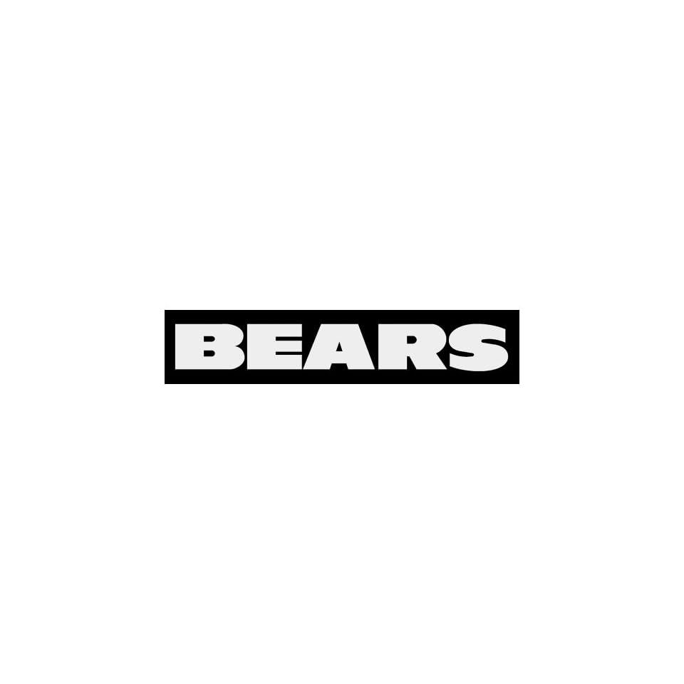 Chicago Bears Text Logo Window Wall STICKER Car DECAL