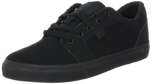 DC Men's Anvil Action Sports Shoe, Black/Black, 10.5 M US