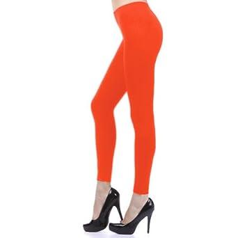 D&K Leggings (Full Thin) Neon Orange