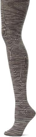 K. Bell Socks Women's Space Dyed Tights, Black Multi, Small/Medium