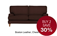 Georgia Small Sofa - Leather