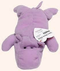 McDonalds: Ty Teenie Beanie Happy Hippo