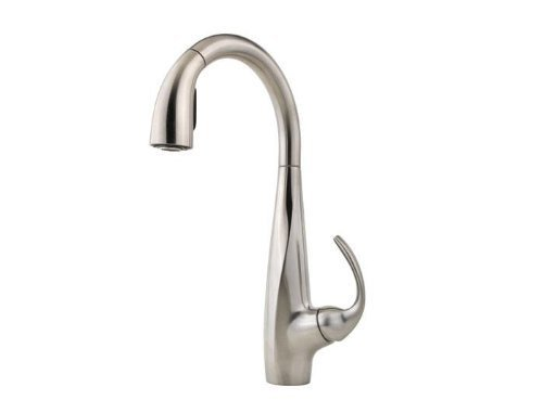 Pfister Avanti 1 Handle 1 Or 3 Hole Pull Down Kitchen Faucet In Stainless Steel Carmelo R Siroisiot