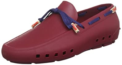 MOCKS Mens Rubber Genoa Garnet Loafers MOC30002899706 6 UK, 40 EU