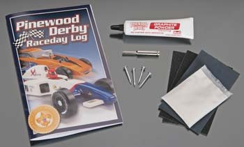 Revell Pinewood Derby Tuning Set/Speed Kit - 1