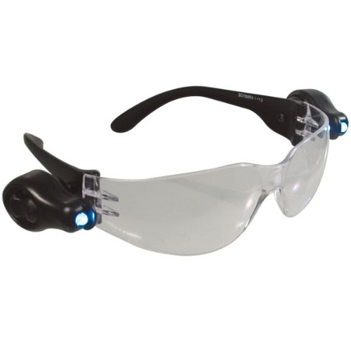 Magnifying Safety Glasses With Led Lights- 1.0X