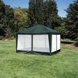 Deluxe Screen House/party Tent 10'x12′ Green, Outdoor Stuffs