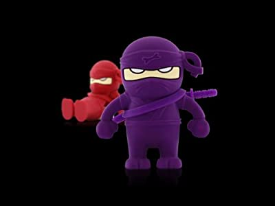 8GB Ninja PURPLE Memory Stick USB 2.0 Flash Drive FREE DELIVERY from NUT