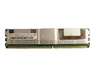 Dell 9W657 2GB (1x2GB) Memory PC2-5300 667Mhz Poweredge 1900 1950 1955 2900 2950 T5400 WS490
