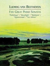 5 Great Piano Sonatas /Ed. Schenker