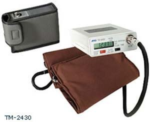 Cheap Ambulatory blood pressure monitor with software, 2 cuffs (adult and large adult) (TM-2430DP3)